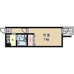 東白マンション[2階]の間取り