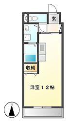 ボヌール千代田[5階]の間取り