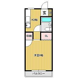 TSビル[3階]の間取り