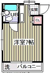ローズアパートQ30[2階]の間取り