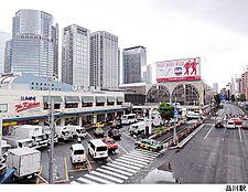 品川駅(現地まで640m)