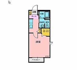 メゾン・ド・ソレイユB[2階]の間取り