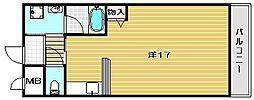 ネオハイム弥生[103号室]の間取り