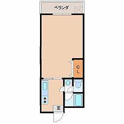 宮崎県宮崎市太田3丁目の賃貸マンションの間取り