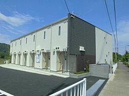 東京都あきる野市瀬戸岡の賃貸アパートの外観
