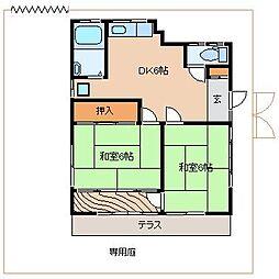 [一戸建] 神奈川県藤沢市片瀬5丁目 の賃貸【/】の間取り