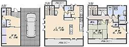 [一戸建] 広島県広島市安佐南区祇園3丁目 の賃貸【/】の間取り