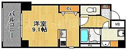 マイプレイス赤坂[3階]の間取り