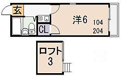 ANEMOS[105号室]の間取り