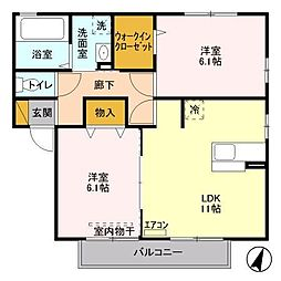 武川駅 6.6万円