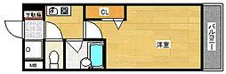 プルメリア玉出[5階]の間取り