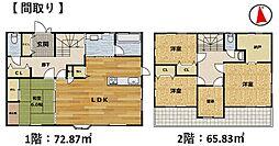 建物面積約40坪で広さにゆとりを感じます。