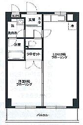 フィオーレ新横浜[7階]の間取り
