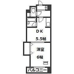 ル・セーヌ札幌(旧トーワ南6条)[3階]の間取り