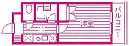 フローラル宮崎台[2階]の間取り