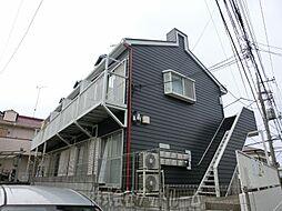 東京都町田市金森東1の賃貸アパートの外観