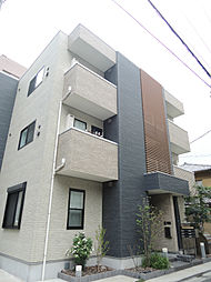東京都江東区深川2丁目の賃貸アパートの外観