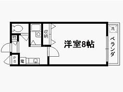 アクティ堀川[5階]の間取り
