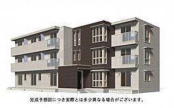 広島県福山市手城町2丁目の賃貸アパートの外観