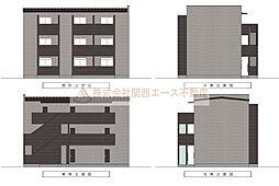 CASA VIVACE 北野田(カーサ ヴィヴァーチェキタノダ)[1階]の外観