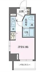 東京都葛飾区東新小岩3丁目の賃貸マンションの間取り