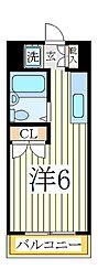 エステートピア・ルリ[4階]の間取り