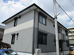 大阪府門真市巣本町の賃貸アパートの外観