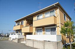 福岡県古賀市美明3丁目の賃貸アパートの外観