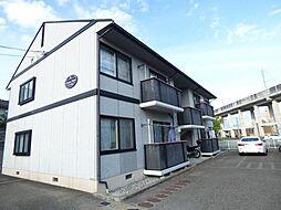 長野県長野市安茂里の賃貸アパートの外観