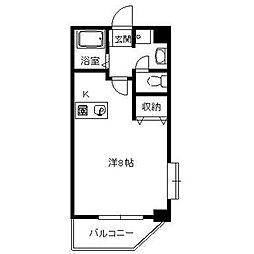 コーポ産興桜台II[5階]の間取り