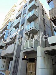 東京都北区豊島2丁目の賃貸マンションの外観