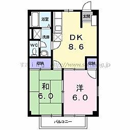 ニューシティ和田山 103[103号室]の間取り