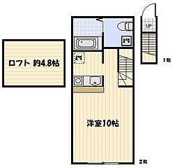 コンフォートスペース新宿[0202号室]の間取り