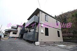 岡山県岡山市北区玉柏の賃貸アパートの外観