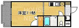 フォスマット松ヶ崎[101号室号室]の間取り