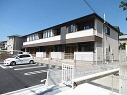 和歌山県岩出市相谷の賃貸アパートの外観