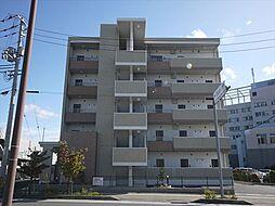 広島県東広島市西条土与丸6丁目の賃貸マンションの外観