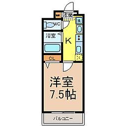 BASIC2000(ベーシック2000)[4階]の間取り