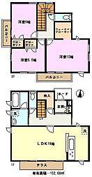 [一戸建] 埼玉県さいたま市緑区大字下野田408丁目 の賃貸【/】の間取り