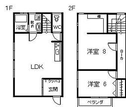 サニーハウス海咲[K-2号室]の間取り