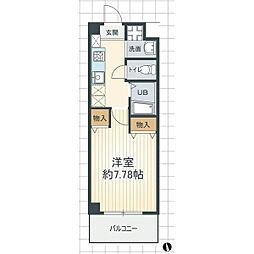 サニープレイスMJ[2階]の間取り