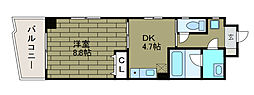 サンフラット3[5階]の間取り