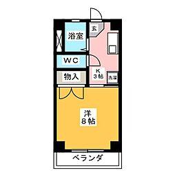 フジコー羽田[3階]の間取り