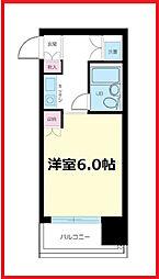 東京都北区赤羽南1丁目の賃貸マンションの間取り