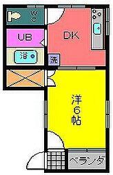 ソルテクス[2階]の間取り