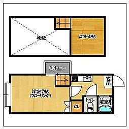 セリーヌ藤崎[2階]の間取り
