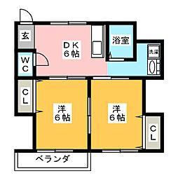 大和ビル[2階]の間取り