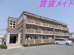 三重県伊勢市小俣町湯田の賃貸マンションの外観