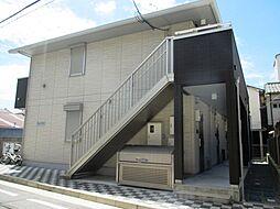 兵庫県尼崎市梶ケ島の賃貸アパートの外観
