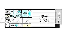 スワンズシティ梅田ウエスト[8階]の間取り